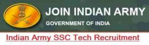 Indian Army SSC (Tech) Graduate Recruitment