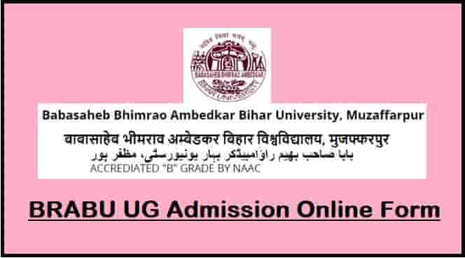 BRABU UG Admission Online Form