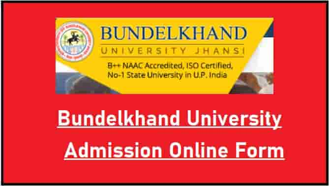 Bundelkhand University Admission Online Form