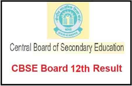 CBSE Board 12thResult