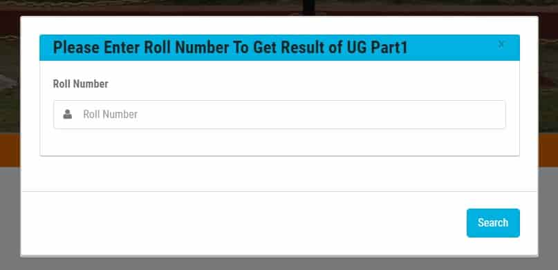 How to Check LNMU UG part 1 Result 2021