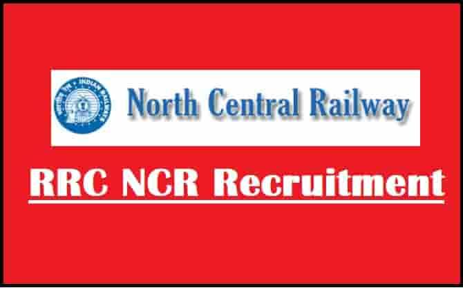 RRC NCR Apprentices Online Form 2021