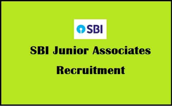 SBI Junior Associates Bharti