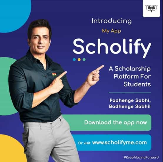 Sonu Sood Scholify Scholarship App Download