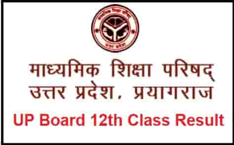 UP Board 12th Class Result