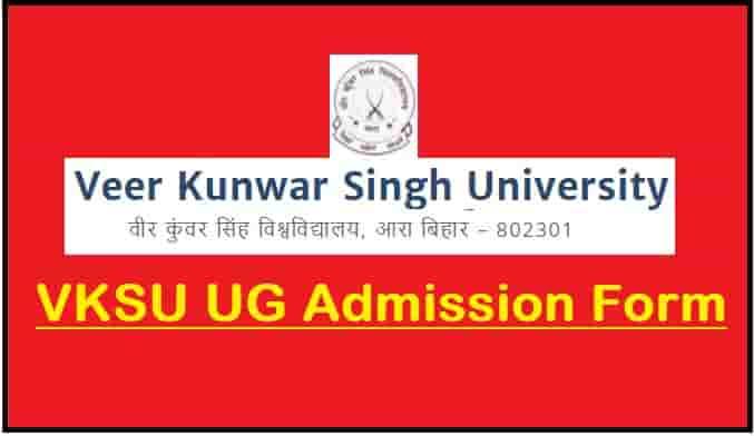 VKSU UG Admission Online Form