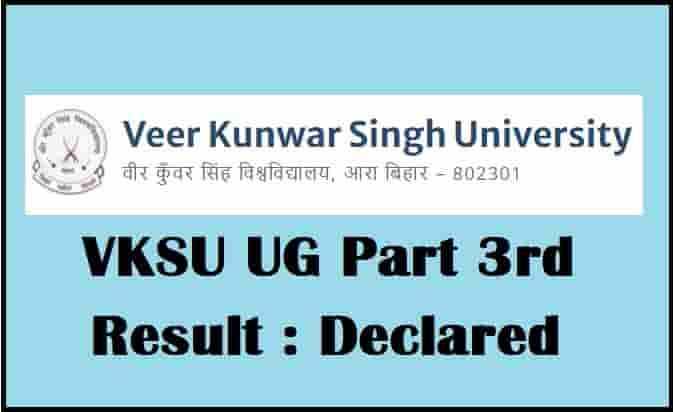 VKSU UG Part 3 Result 2017-2020
